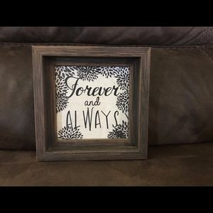🤍Forever and Always Farmhouse Decor Accent